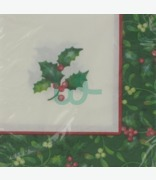 Party Creations Holly Berries Napkins 2 Ply