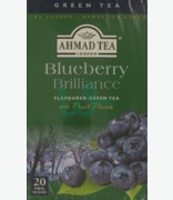 Ahmad Blueberry Brilliance Flavoured Green Tea