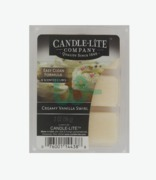 Candle Lite 6 Highly Scented Wax Cubes Creamy Vanilla Swirl