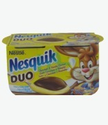 Nesquik Cream Duo Choc And Vanilla