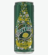 Perrier Slim Can Lemon