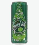 Perrier Slim Can Lime