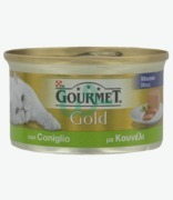 Gourmet Gold Mousse With Rabbit