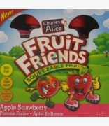Charles & Alice Fruit Friends Squeezable Fruit Apple Strawberry