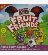 Charles & Alice Fruit Friends Squeezable Fruit Apple Berry Banana