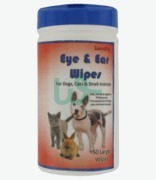 Zoomipet Eye & Ear Wipes