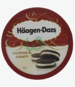 Haagen Dazs Cookies & Cream Tub