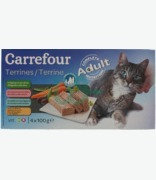 Carrefour Cat Adult Terrine