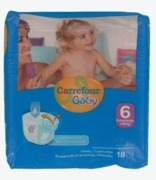 Carrefour Baby 6 Extra Large X