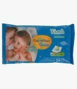 Carrefour Aloe Vera Baby Wipes
