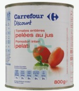 Carrefour Discount Peeled Tomatoes
