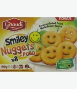 Dewfresh Smiley Chicken Nuggets