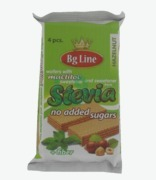 Bg Line Stevia Wafer Hazelnut