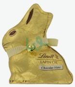 Lindt Lapin Or White Chocolate Bunny