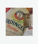 Erdinger 5 Beer Bottles + Free Glass