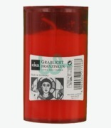 Eika Grave Side Candle Red