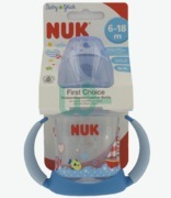 NUK Baby Gluch First Chioce Learner Bottle 6-18 Months