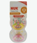 NUK Happy Kids Pacifier Silicone S1 0-6 M