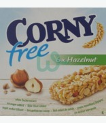 Corny Free Bars With Hazelnut