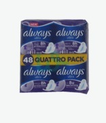 Always Quattro Pack Ultra Long With Wings