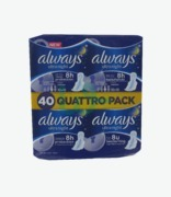 Always Quattro Pack Ultra Night With Wings