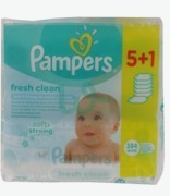 Pampers Fresh Clean Wipes