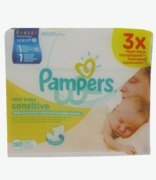 Pampers New Baby Wipes Sensitive Multi Pack