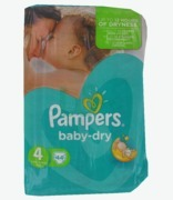 Pampers Baby Dry 4 Maxi 7-18kg