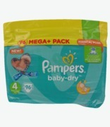 Pampers Baby Dry Mega Pack 4 Maxi 8-16kg