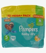 Pampers Baby- Dry Mega Pack 5 Junior 11-23kg