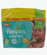 Pampers Baby Dry 5+ Junior Mega Pack
