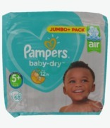 Pampers Baby Dry Jumbo Junior Plus 5+