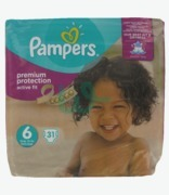 Pampers Active Fit 6 Extra Large
