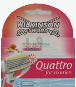 Wilkinson Sword Quattro For Women X