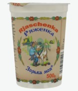 Russian Food : Yoghurt 3.5% Fat