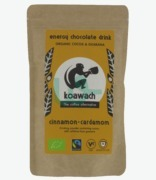 Koawach Energy Chocolate Drink Organic Cinnamon And Cardamon