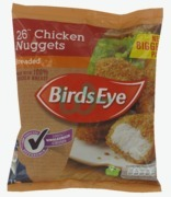 Birds Eye 26 Chicken Nuggets Breaded