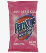 Parazone Hot Pink Toilet Wipes