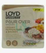 Loyd Grossman Pour Over Creamy Peppercorn & Brandy