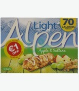Alpen Light Apple & Sultana