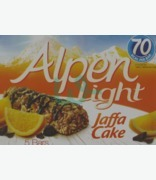 Alpen Light Jaffa Cake Cereal Bars