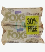 Fox's White Chocolate Chunkie Cookies 30% Free