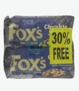 Fox's Milk Chocolate Chunkie Cookie 30% Free