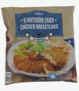 Iceland 8 Southern Fried Chicken Breast Steaks