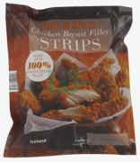 Iceland Hot & Spicy Chicken Breast Strips