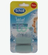 Scholl Velvet Smooth Wet & Dry Pedi Dev Refi