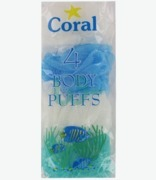 Coral Body Puffs X