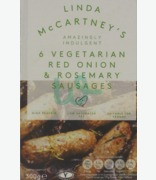Linda Mc Cartney 6 Vegetarian Red Onion & Rosemary Sausages