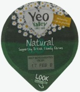 Yeo Valley Natural Yoghurt Whole Milk