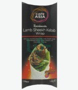 Cafe Asia Lamb Sheekh Kebab Wrap